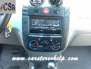 Chevroltet Aveo Hot to Remove Car Stereo Guide