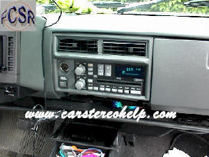 Chevrolet Blazer Car Stereo, Speaker and Amplifier Removal and Replacement