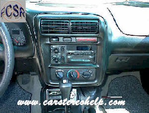 Chevrolet Camaro How to Remove Car Radio Instruction Guide