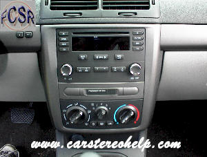 How to Remove Chevrolet Cobalt Car Stereo, Do It Yourself Car Stereo Removal