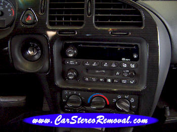 Chevrolet Monte Carlo DIY Factory Car Stereo and Speaker Removal