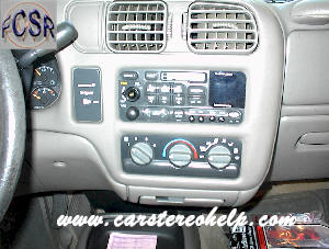 Chevrolet S10 DIY Factory Car Stereo and Speaker Removal