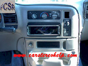 Chevrolet Astro Van  DIY Factory Car Stereo and Speaker Removal