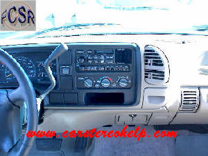 Chevrolet Pickup DIY Factory Car Stereo and Speaker Removal
