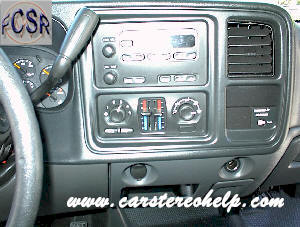 Chevrolet Siverado / 1500 / 2500 /3500 DIY Factory Car Stereo and Speaker Removal