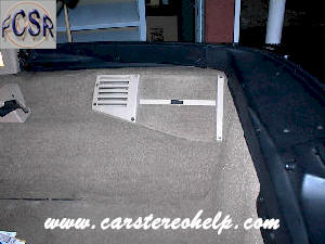 Corvette Bose Rear Speaker, How To Do It Yourself Bose Rear Speaker Removal