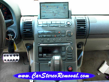 How to Remove Nissan Skyline Car Radio Instruction Guide