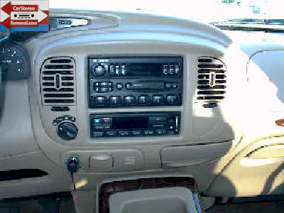 How To Install And Remove Lincoln Navigator Car Radio Speaker