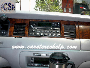 How To Install And Remove Lincoln Town Car Radio Speaker