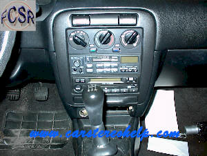 How to Remove Nissan 200sx Car Radio Instruction Guide