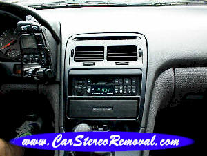 How to Remove Nissan 300zx Car Radio Instruction Guide