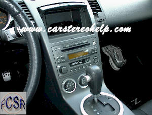 Car Stereo Removal Nissan 350ZX, Do it Yourself How to Remove Car Stereo Nissan 350Z.