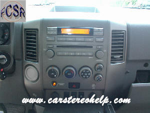 How to Remove Nissan Armada Car Radio Instruction Guide