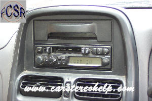 How to Remove Nissan Navara Car Radio Instruction Guide