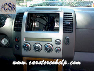 How to Remove Nissan Pathfinder Car Radio Instruction Guide
