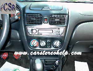 How to Remove Nissan Sentra Car Radio Instruction Guide