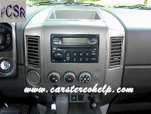 How to Remove Nissan Titan Car Radio Instruction Guide