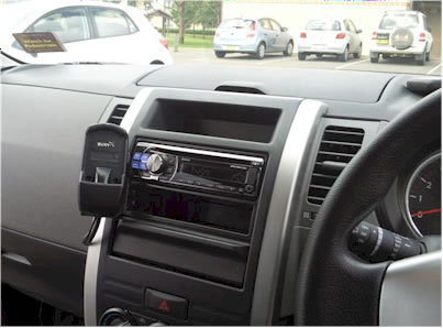 Nissan X-Trail Car Stereo Removal and Installation