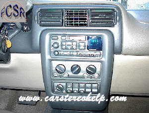Chevrolet Tran Sport DIY Factory Car Stereo and Speaker Removal